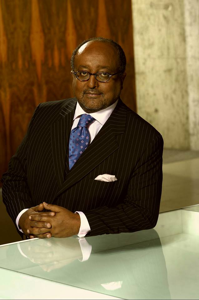 Le'ul Ras (Prince) Dr Asfa-Wossen Asserate (Amharic: አስፋ ወሰን ዓሥራተ), (born October 31, 1948, Addis Ababa, Ethiopia), is a Ethiopian-German political analyst and consultant for African and Middle-Eastern Affairs and best-selling author. A member of the Ethiopian royalty, he is the great nephew of the last Emperor of Ethiopia Haile Selassie