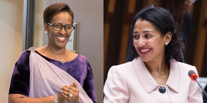 H.E Jeannette Kagame, Prof. Senait Fisseha chaired the first meeting of the UGHE Africa Advisory Board